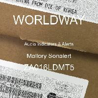 ZA016LDMT5 - Mallory Sonalert - オーディオインジケータとアラート