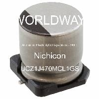 UCZ1J470MCL1GS - Nichicon - Aluminum Electrolytic Capacitors - SMD