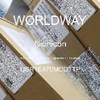 USR1E470MDD1TP - Nichicon - Kapasitor Elektrolit Aluminium - Bertimbel