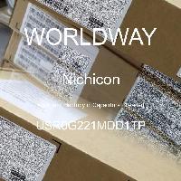 USR0G221MDD1TP - Nichicon - Kapasitor Elektrolit Aluminium - Bertimbel