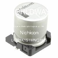 UCD1K151MNQ1MS - Nichicon - Aluminum Electrolytic Capacitors - SMD
