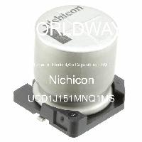 UCD1J151MNQ1MS - Nichicon - Aluminum Electrolytic Capacitors - SMD