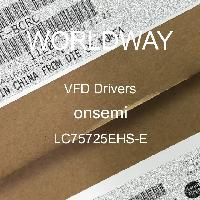 LC75725EHS-E - ON Semiconductor - VFD Drivers