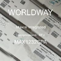 MAX1232CPA - Maxim Integrated Products - Mikroprosesor - MPU