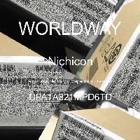 UPA1A821MPD6TD - Nichicon - 铝电解电容器 - 含铅