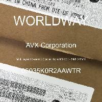06035K0R2AAWTR - AVX Corporation - Multilayer Ceramic Capacitors MLCC - SMD/SMT