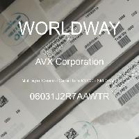 06031J2R7AAWTR - AVX Corporation - 積層セラミックコンデンサMLCC-SMD / SMT