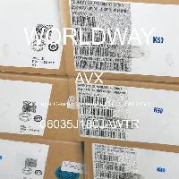 06035J180JAWTR - AVX Corporation - Capacitores de cerâmica multicamada MLCC - SM
