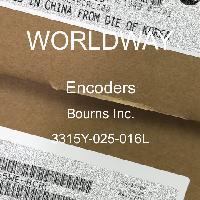 3315Y-025-016L - Bourns Inc - Encoders