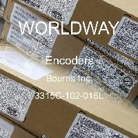 3315C-102-016L - Bourns Inc - Encoders