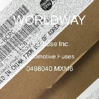 0498040.MXM6 - Littelfuse - 汽车保险丝