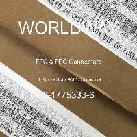3-1775333-6 - TE Connectivity AMP Connectors - FFCおよびFPCコネクタ