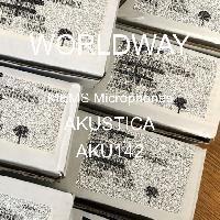 AKU142 - AKUSTICA - MEMS 마이크