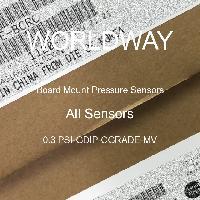 0.3 PSI-GDIP-CGRADE-MV - All Sensors - Board Mount Pressure Sensors