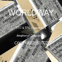 C00710B0050002 - Amphenol Corporation - FFCおよびFPCコネクタ