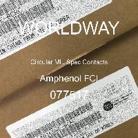 077517 - Amphenol FCI - サーキュラーミル仕様コンタクト