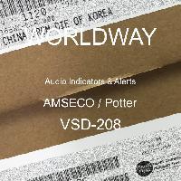 VSD-208 - AMSECO / Potter - Indicadores de audio y alertas