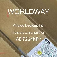 AD7224KP* - Analog Devices Inc - Electronic Components ICs