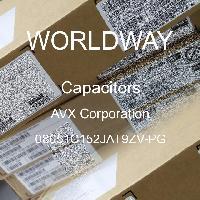 08051C152JAT9ZV-PG - AVX Corporation - Capacitores