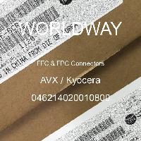 046214020010800 - AVX Corporation - FFCおよびFPCコネクタ
