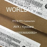 046298006000883+ - AVX Corporation - FFCおよびFPCコネクタ