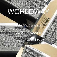046244426011800+ - AVX Corporation - FFCおよびFPCコネクタ