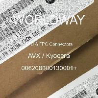 006208000130001+ - AVX Corporation - FFCおよびFPCコネクタ