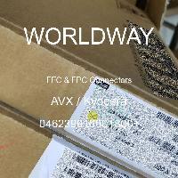046239016001800+ - AVX Corporation - FFCおよびFPCコネクタ