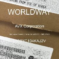 0508YC104KAJ2V - AVX Corporation - Capacitores de cerâmica multicamada MLCC - SM