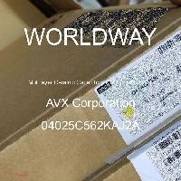 04025C562KAJ2A - AVX Corporation - Condensateurs céramique multicouches MLCC - S