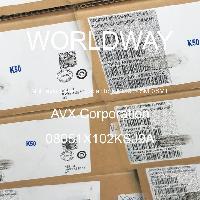 08051X102KSJ9A - AVX Corporation - Mehrschichtkeramikkondensatoren MLCC - SMD /