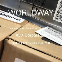 08051X102KSJME\1K - AVX Corporation - Multilayer Ceramic Capacitors MLCC - SMD/SMT