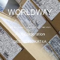 06036C152KAT4A - AVX Corporation - Multilayer Ceramic Capacitors MLCC - SMD/SMT