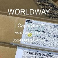 05041A0R5CA79A - AVX Corporation - Capacitores