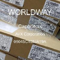 05045C103JA19A - AVX Corporation - Capacitores