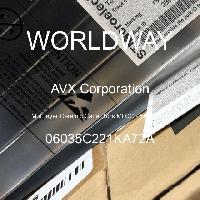 06035C221KA72A - AVX Corporation - Condensateurs céramique multicouches MLCC - S