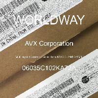 06035C102KA72A - AVX Corporation - Condensateurs céramique multicouches MLCC - S