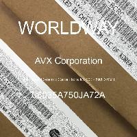 06035A750JA72A - AVX Corporation - Condensateurs céramique multicouches MLCC - S