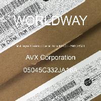 05045C332JA16A - AVX Corporation - Condensateurs céramique multicouches MLCC - S