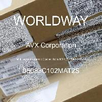 05083C102MAT2S - AVX Corporation - Condensateurs céramique multicouches MLCC - S