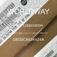 06033C683K4Z4A - AVX Corporation - Condensateurs céramique multicouches MLCC - S