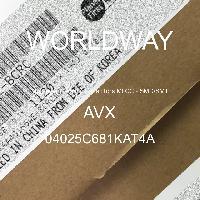 04025C681KAT4A - AVX Corporation - Condensateurs céramique multicouches MLCC - S