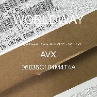 06035C104M4T4A - AVX Corporation - Condensateurs céramique multicouches MLCC - S