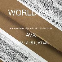 08051A151JAT4A - AVX Corporation - Condensateurs céramique multicouches MLCC - S