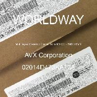 02014D473KAT2A - AVX Corporation - Condensateurs céramique multicouches MLCC - S