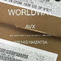 02014G104ZAT2A - AVX Corporation - Condensateurs céramique multicouches MLCC - S