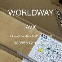 08055A121GAT4A - AVX Corporation - Multilayer Ceramic Capacitors MLCC - SMD/SMT