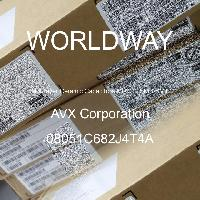 08051C682J4T4A - AVX Corporation - Multilayer Ceramic Capacitors MLCC - SMD/SMT