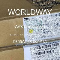 0805AC681KAZ1A - AVX Corporation - Multilayer Ceramic Capacitors MLCC - SMD/SMT