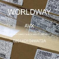 02014D104MAT2A - AVX Corporation - Condensateurs céramique multicouches MLCC - S